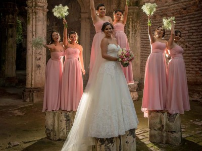 Damas de honor vestidos