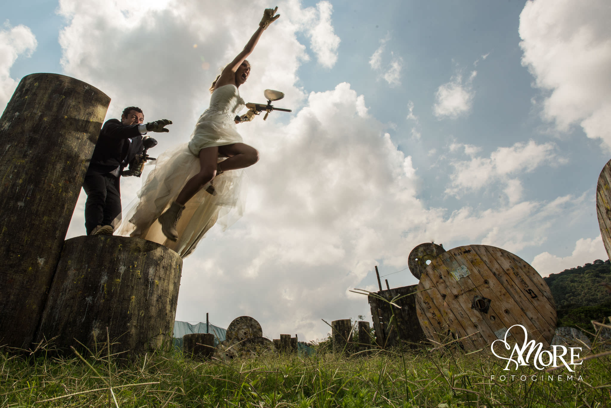 Ideas para fotos de boda creativas